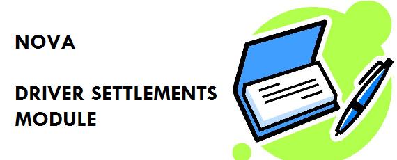 Driver Settlement Module